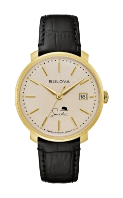 Bulova Men's Frank Sinatra The Best Is Yet To Come Watch 97B195
