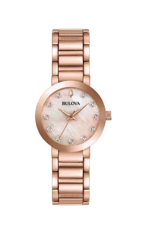 Bulova Futuro Women's Rose Gold Tone Watch 97P132 product image