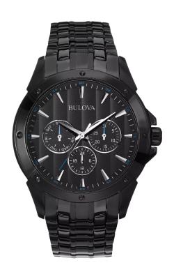 Bulova Classic Men's Black Ion Quartz Watch 98C121 product image