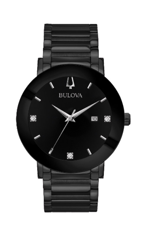 Bulova Men's Futuro Black Modern Watch 98D144 product image