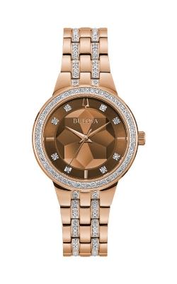Bulova Phantom Women's Rose Gold Crystal Watch 98L266 product image