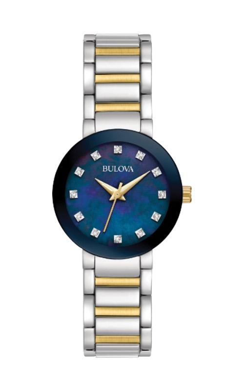 Bulova Futuro Women's Two Tone Watch 98P157 product image