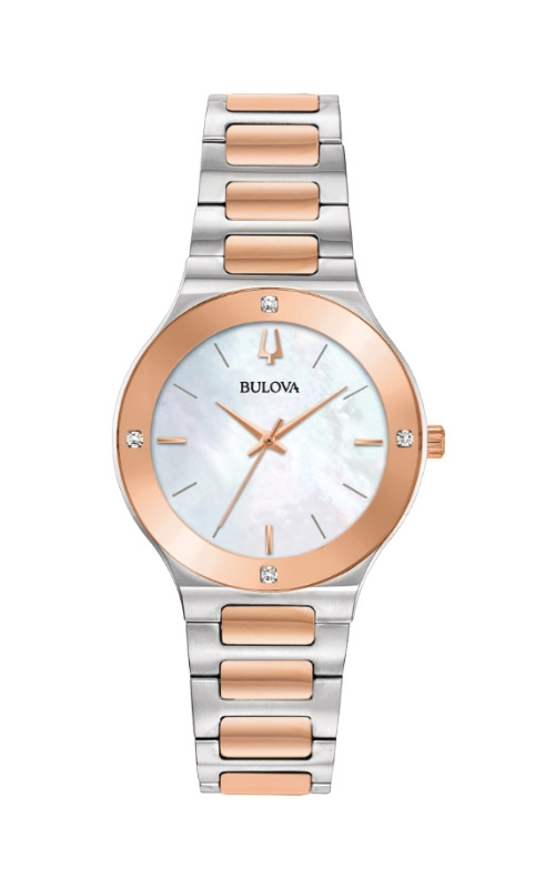 Bulova Millennia Two Tone Mother of Pearl Watch 98R274  product image