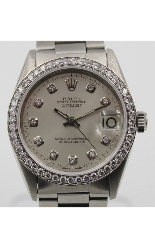 Pre-Owned Timepieces Rolex Date-Just 6824 Custom Bezel/Dial product image