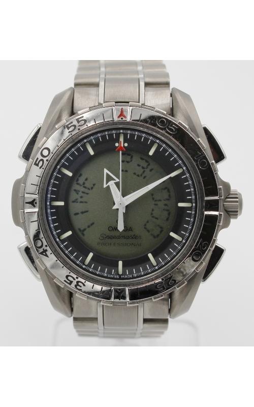 Pre-Owned Omega Speedmaster Digital/Analog Titanium  product image