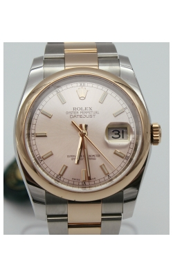 Pre-Owned Timepieces Rolex Date-Just 116203 Rose Gold  product image