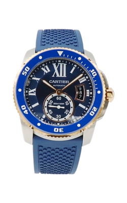Pre-Owned Cartier Calibre De Cartier Diver W2CA0009 Circa 2010 product image