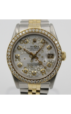 Pre-Owned Timepieces Rolex Ladies Date-Just Floral Dial  product image