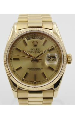 Pre-Owned Rolex Day-Date President 18038 product image