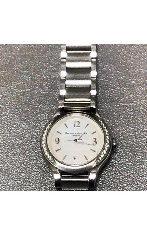 Ladies Baume & Mercier Diamond Watch - Pre-owned product image