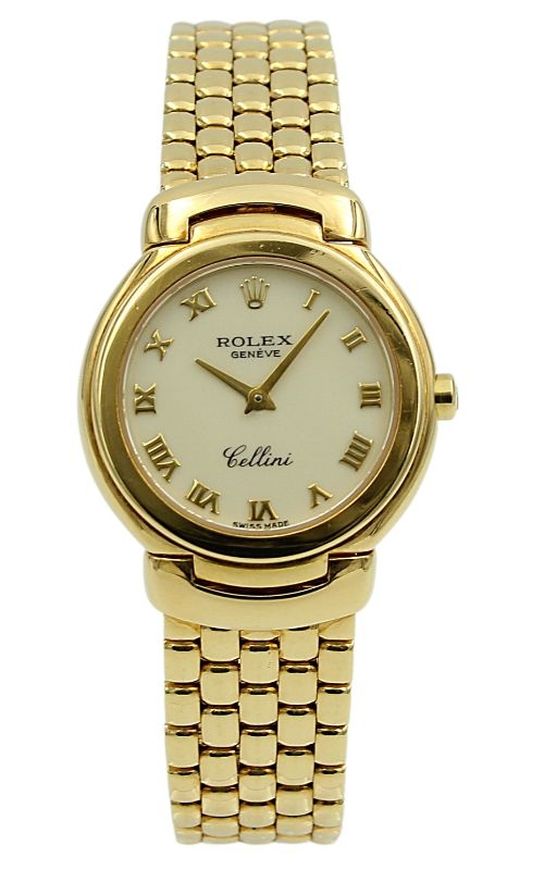 Pre-Owned Rolex Ladies Cellini 6621 18K Yellow Gold  product image