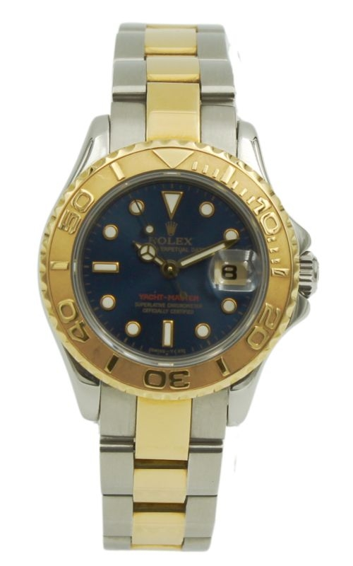 Pre-Owned Rolex Ladies Yacht-Master 69623 18k YG & SS product image