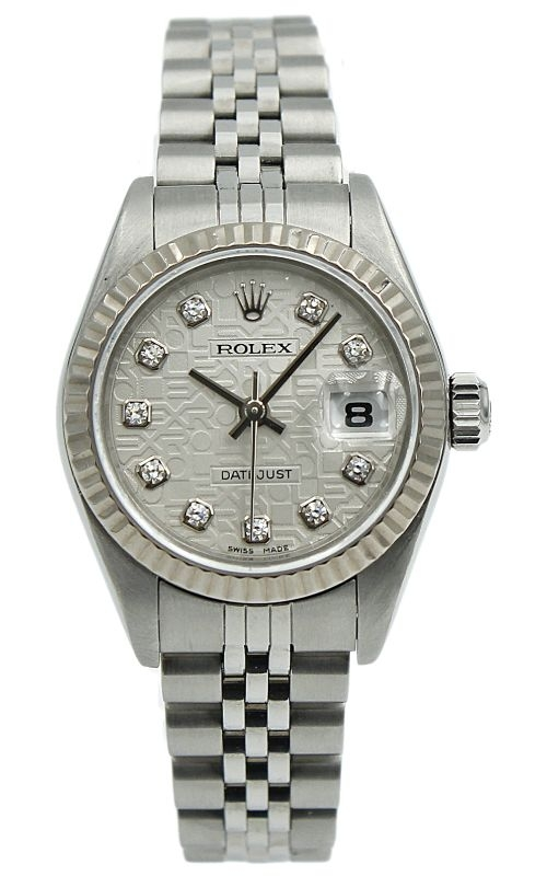 Pre-Owned Rolex Lady-DateJust 79174 w. Rolex Dial & Diamond Markers product image