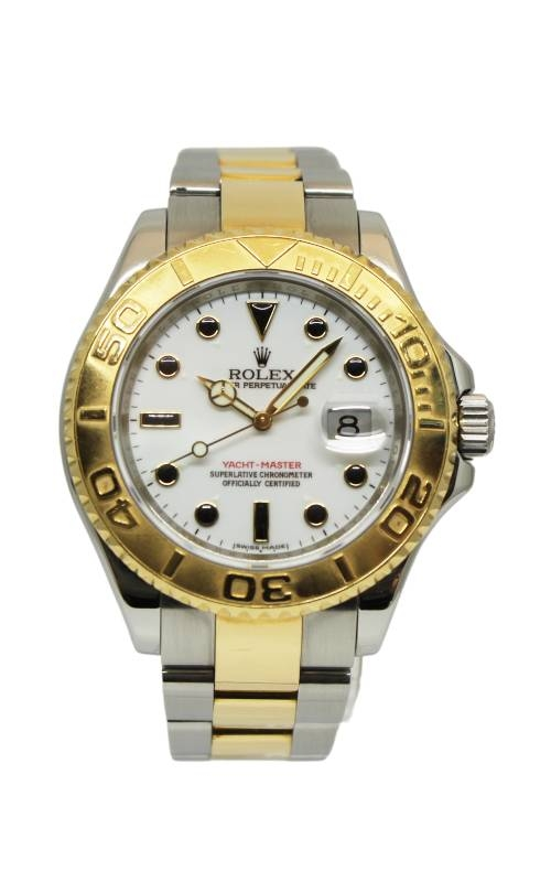 Pre-owned Rolex 18k Yellow Gold & Stainless Steel Yacht-Master OG30385 product image