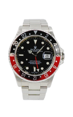 "Pre-Owned Rolex GMT-Master II ""Coke"" 16710 Circa 2000 product image"