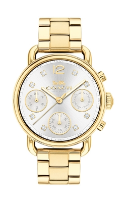 Coach Delancey Gold Tone Chronograph Watch 14502943 product image