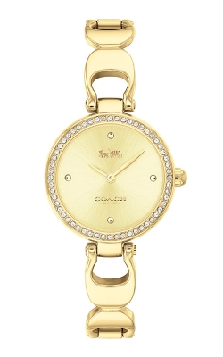 Coach Park Gold Tone Signature Chain Watch 14503171 product image