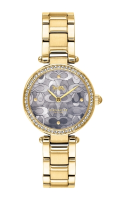 Coach Park Gold Tone Mother of Pearl Watch 14503225 product image