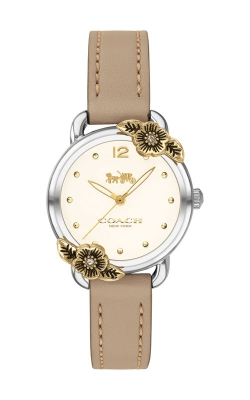 Coach Delancey Leather Floral Watch 14503238 product image