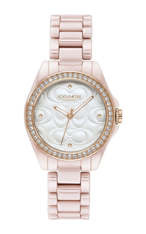 Coach Astor Pink Ceramic Watch 14503256 product image