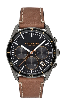 Coach Thompson Brown Leather Chronograph Watch 14602410 product image