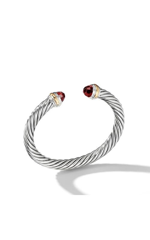 Bracelet with Garnet and 14K Gold product image