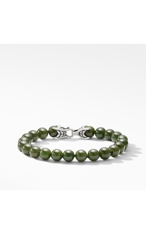 Spiritual Bead Bracelet with Nephrite Jade product image