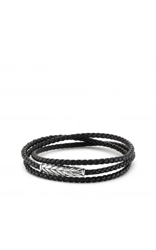 Chevron Triple-Wrap Bracelet in Black product image