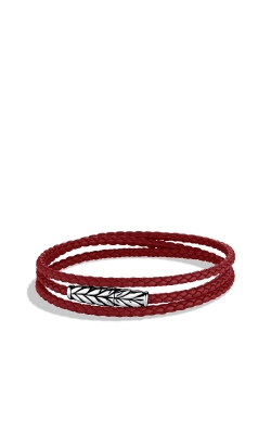 Chevron Triple-Wrap Bracelet In Red product image