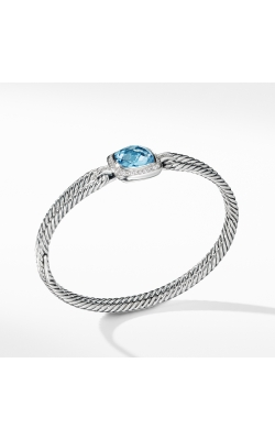 Bracelet With Blue Topaz And Diamonds product image
