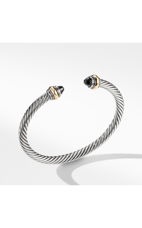 Cable Classic Bracelet with Black Onyx and Gold product image