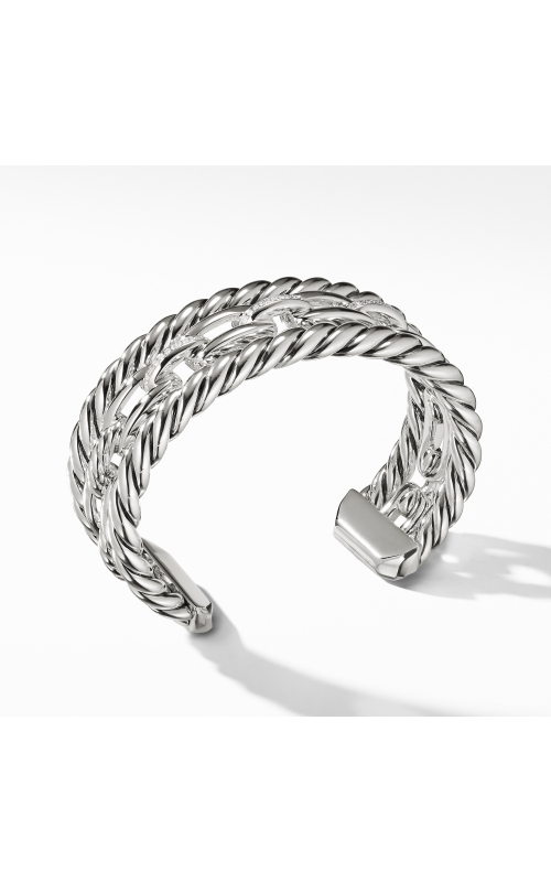 Wellesley Link™ Three-Row Cuff with Diamonds product image