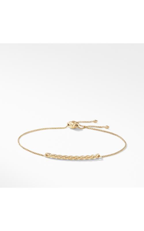 Paveflex Station Bracelet in 18K Gold product image