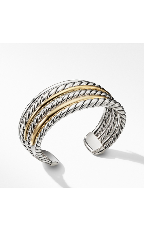 Pure Form® Cuff Bracelet with 18K Gold product image