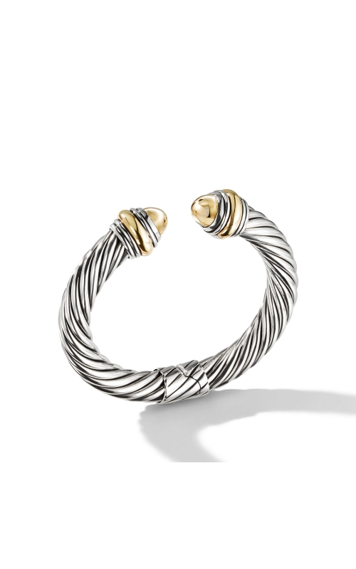 Cable Classics Collection® Bracelet with Bonded Yellow Gold and 14K Gold product image