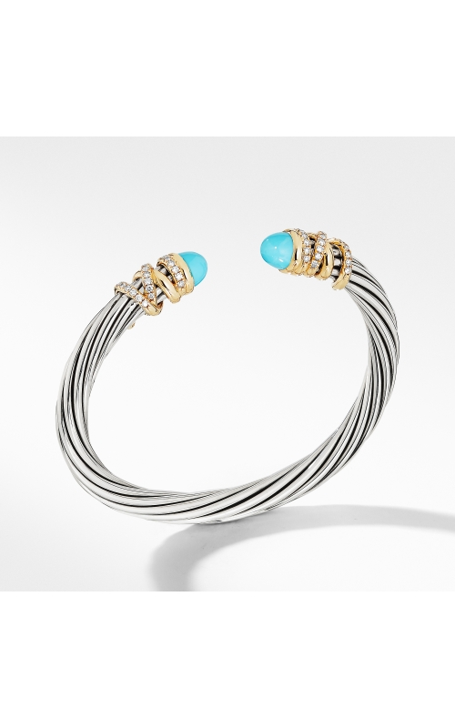 Helena Bracelet with Turquoise and Diamonds product image