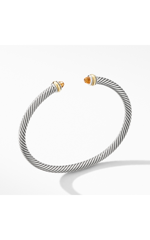 Cable Classic Bracelet with Citrine and 18K Yellow Gold product image