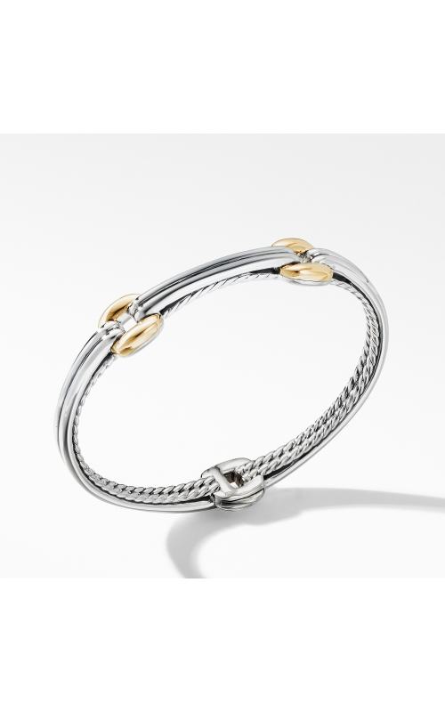 Thoroughbred® Double Link Bracelet with 18K Yellow Gold product image