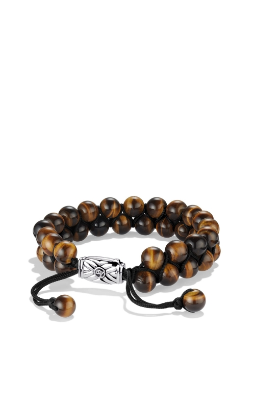 Spiritual Beads Two-Row Bracelet with Tiger's Eye product image