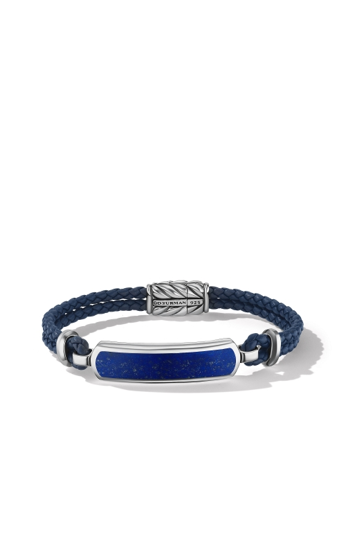 Station Blue Leather Bracelet with Lapis Lazuli product image