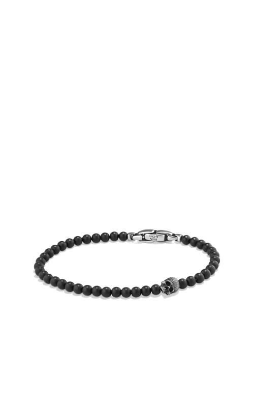 Spiritual Beads Skull Bracelet with Black Onyx product image
