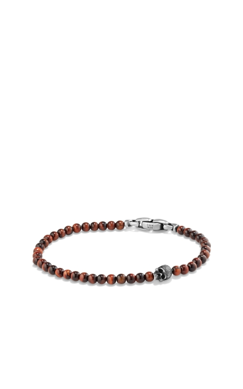 Spiritual Beads Skull Bracelet with Red Tigers Eye product image