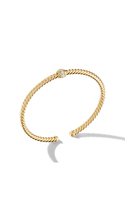 Renaissance Center Station Bracelet 18K Yellow Gold with Diamonds product image