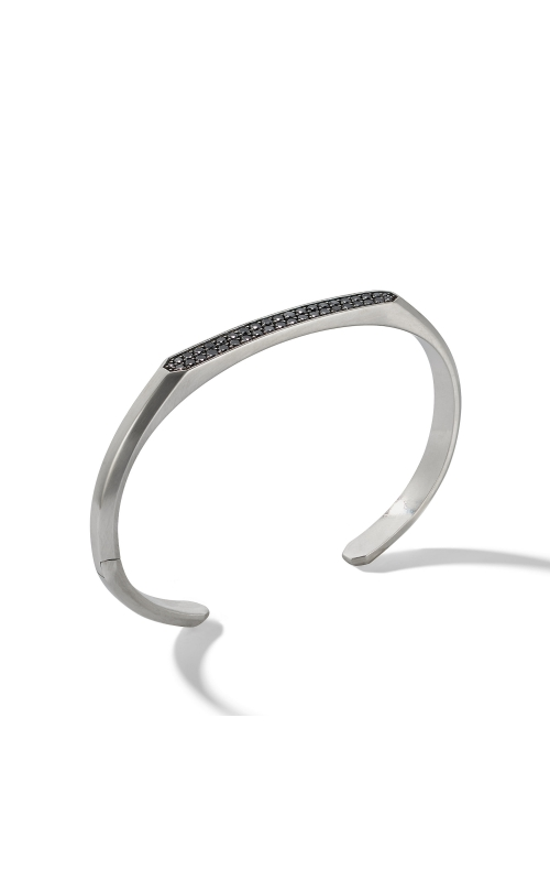 Streamline® Cuff Bracelet with Black Diamonds product image