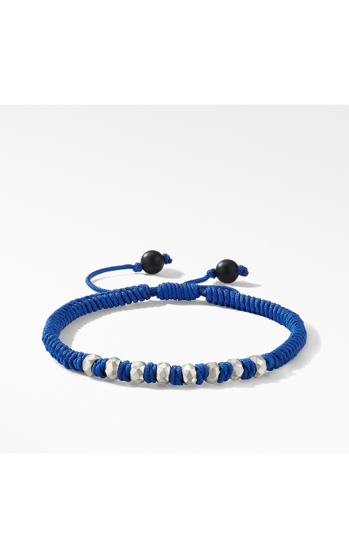 DY Fortune Woven Bracelet in Navy with Black Onyx product image