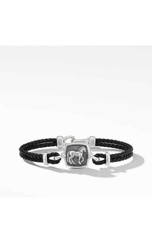 Petrvs Horse Black Leather Bracelet product image