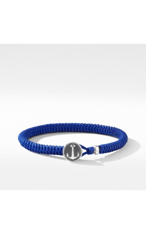 Maritime® Anchor Station Blue Nylon Bracelet product image
