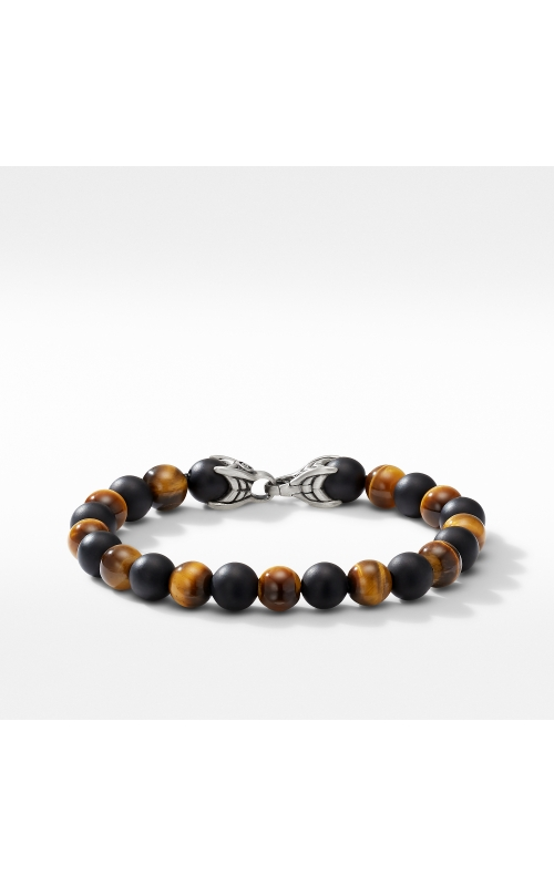 Spiritual Beads Bracelet with Tiger's Eye and Black Onyx product image