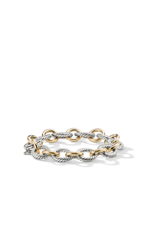 Oval Large Link Bracelet with Gold product image