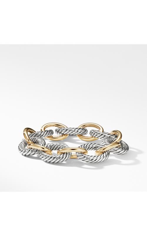 Extra-Large Oval Link Bracelet with 18K Gold product image